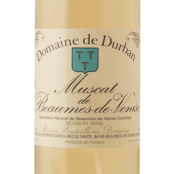 Domaine Durban Muscat Beaumes de Venise 2016  375ml <br />Bordeaux, France