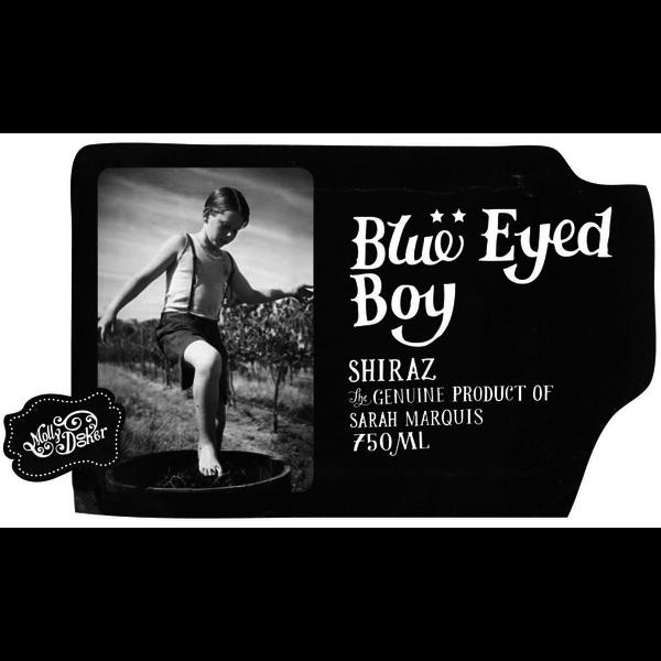 MollyDooker MollyDooker Blue Eyed Boy Shiraz 2018<br />McLaren Vale, South Australia, Australia<br /> 92pts- WS, 92pts-WA