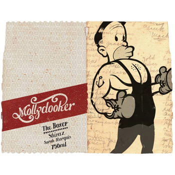 MollyDooker Mollydooker The Boxer Shiraz 2018<br /> South Australia, Australia<br /> 91pts-WA, 90pts-WS
