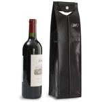 Epic Leather Wine Bag Black 1 Bottle