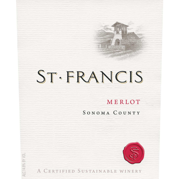 St. Francis Merlot 2017<br /> Sonoma County, California
