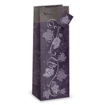 Epic Purple Grapevine One Bottle Wine Gift Bag