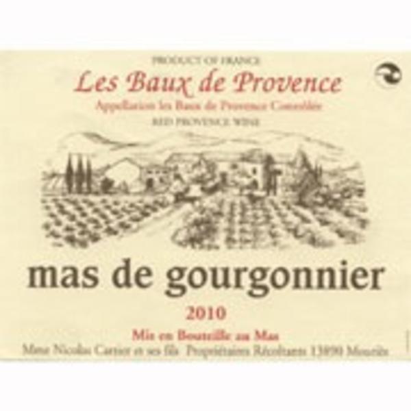 Mas de Gourgonnier Les Baux de Provence Rouge 2018 ORGANIC Provence, France