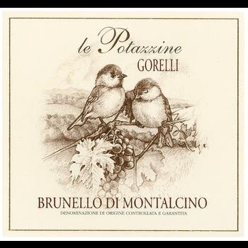 Le Potazzine Tenuta Le Potazzine Gorelli Brunello di Montalcino 2015   <br /> Tuscany, Italy<br /> 97pts-V