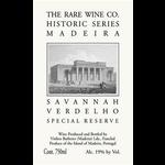 Rare Wine Co The Rare Wine Company Historic Madeira Series Savannah Verdelho Special Reserve<br />Portugal<br />93pts-JR
