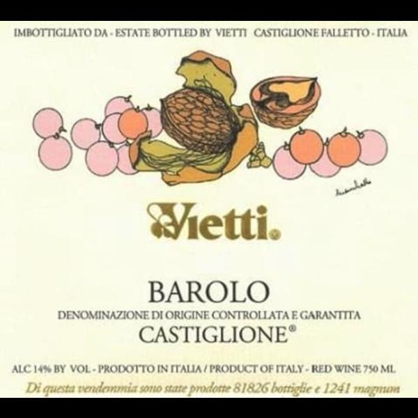 Vietti Vietti Castiglione Barolo 2017<br /> Piedmont, Italy<br /> 96pts-JS, 94pts-WA, 93pts-D