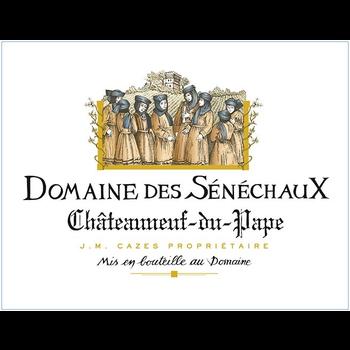 Domaine des Senechaux Châteauneuf-du-Pape 2016<br /> Rhone, France<br /> 95pts-JB, 94pts-WA, 93pts-V, 93pts-WE, 92pts-WS