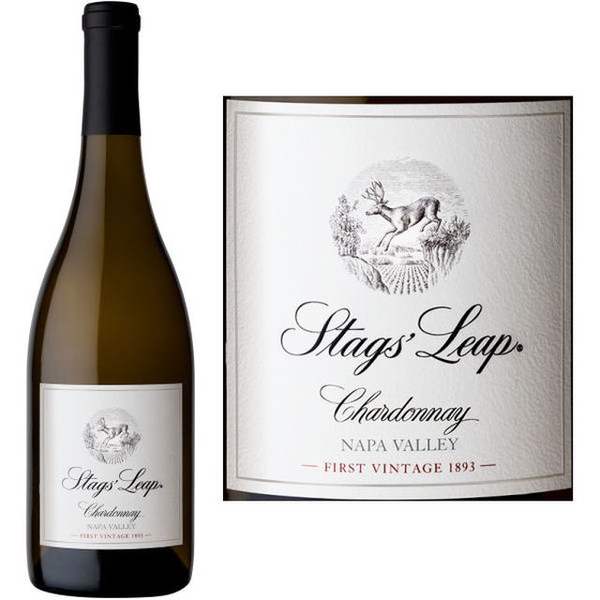 Stags' Leap Winery Napa Valley Chardonnay 2019<br /> Napa Valley, California<br /> 93pts-JS