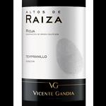 Vicente Gandia Vicente Gandia Alto De Raiza Tempranillo 2017<br /> Rioja, Spain