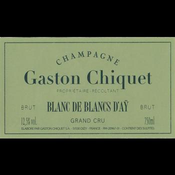 Gaston Chiquet Gaston Chiquet Blanc De Blanc D'Ay Grand Cru Champagne<br />Champagne, France