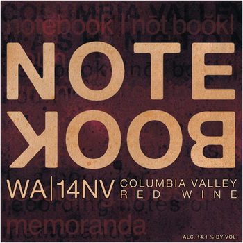 J. Bookwalter Notebook 14NV Red Blend <br /> Columbia Valley, Washington <br /> 90pts-WE