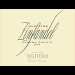 Seghesio-CA Seghesio Old Vine Zinfandel 2017<br />Sonoma, California<br /> 92pts-WS