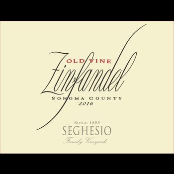 Seghesio-CA Seghesio Old Vine Zinfandel 2017<br />Sonoma, California<br /> 93pts-WA, 92pts-WS