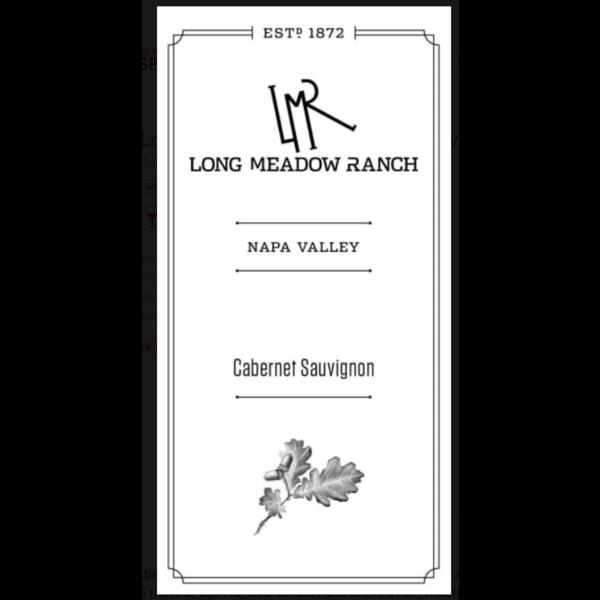 Long Meadow Ranch Estate Grown Cabernet Sauvignon 2015<br /> Napa Valley, California<br /> 91pts-WE