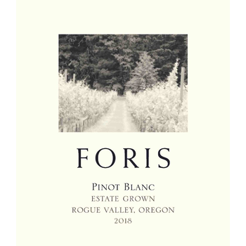 Foris Estate Pinot Blanc 2018<br /> Rogue Valley, Oregon