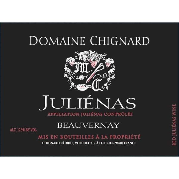 Domaine Michel Chignard Julienas Beauvernay 2017<br /> Beaujolais, Burgundy, France<br /> 93pts-JS