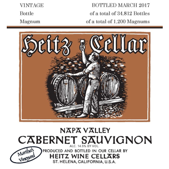 Heitz Cellar Martha's  Vineyard Cabernet Sauvignon 2014<br /> Oakville, Napa Valley, California<br /> 100pts-WE