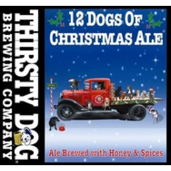 Thirsty Dog Brewing Company 12 Dogs of Christmas Ale Price Per Bottle