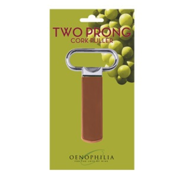 Oenophilia Two Prong Cork Puller