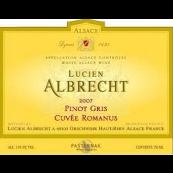 Lucien Albrecht Lucien Albrecht Pinot Gris Cuvee Romanus 2018<br />Alsace, France