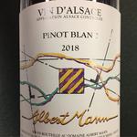 Albert Mann Pinot Blanc 2018<br /> Alsace, France
