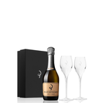 Billecart-Salmon Champagne Brut Rose 375ml  Gift Set with Two Flutes<br /> Champagne, France<br /> 94pts-JS, 93pts-WS, 92pts-D