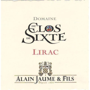 Alain Jaume Alain Jaume & Fils Grand Veneur Clos de Sixte Lirac 2016 <br />Rhone, France