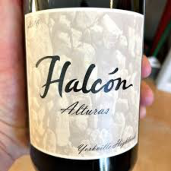 Halcon Alturas Estate Syrah Yorkville Highlands 2018<br /> California<br /> 94pts-WA, 93pts-WE