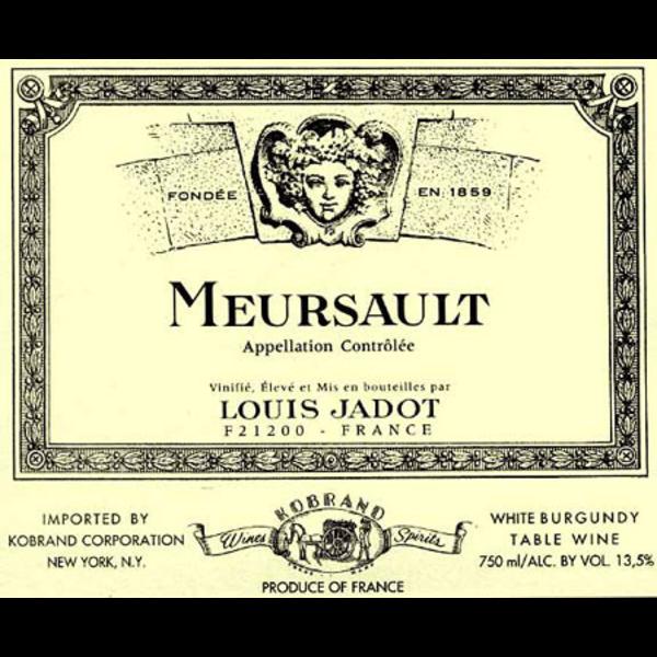 Jadot Louis Jadot Meursault 2018<br />Burgundy, France