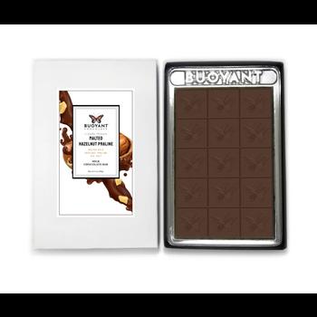 Buoyant Brands Inc. (Formally Lilly's Chocolates) Malted Hazelnut Praline Bar-3oz
