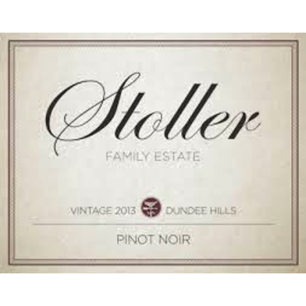 Stoller Family Estates Pinot Noir-2018  Dundee Hills, Oregon
