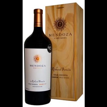 Mendoza Vineyards Gran Reserva Malbec 2017  1.5 Liter<br />Mendoza, Argentina  <br /> 92pts-JS