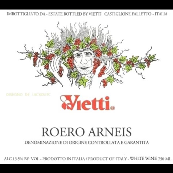 Vietti Vietti Roero Arneis 2019<br /> Piedmont, Italy<br /> 91pts-RP