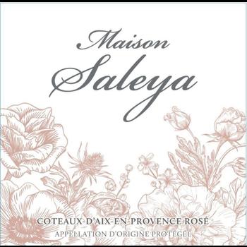 Maison Saleya Rose 2019<br /> Provence, France