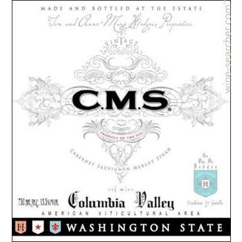 Hedges Hedges Family Estate CMS Red Blend 2015<br />Columbia Valley, Washington