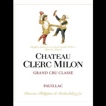 Ch Clerc Milon Chateau Clerc Milon 2015<br /> Pauillac/Bordeaux, France<br /> 96pts-D, 95pts-WE, 95pts-JS