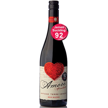 Antiche Terre Amore Assoluto Red 2016<br /> Veneto, Italy<br /> 92pts-JS