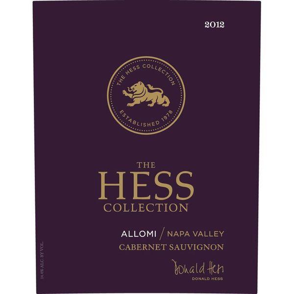 Hess Hess Allomi Cabernet Sauvignon 2018   375ml  <br /> Napa, California