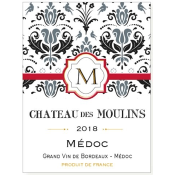 Idiart Chateau des Moulins Medoc 2018<br /> Bordeaux, France