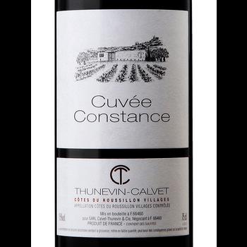 Chateau Thunevin-Calvet  Cuvee Constance 2016<br /> Cotes du Roussillon Villages, France<br /> 92pts-JS