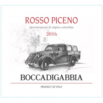Boccadigabbia Boccadigabbia Rosso Piceno 2016<br />Marche, Italy