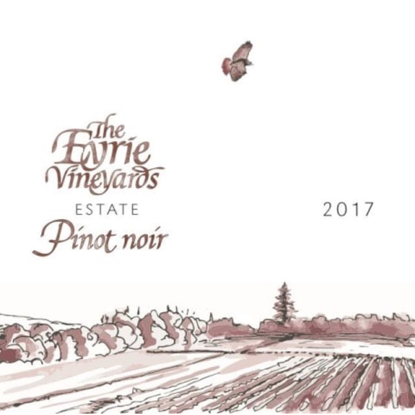 Eyrie Eyrie Estate Pinot Noir 2017<br />Dundee Hills, Oregon<br /> 94pts-JS