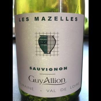 Domaine Guy Allion Les Mazelles Sauvignon Blanc 2019 <br /> Loire, France
