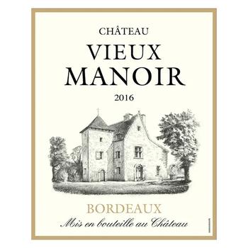 Ch. Vieux Manoir Rouge 2016<br /> Bordeaux, France<br /> 90pts-WE