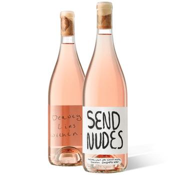 Slo Down Wines Send Nudes Rose 2020<br /> Sonoma, California
