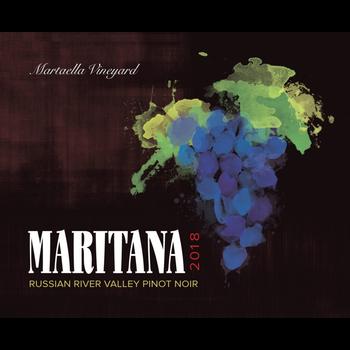 Maritana Le Russe Russian River Pinot Noir 2018<br /> Sonoma, California