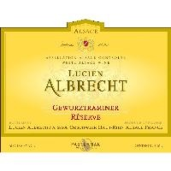 Lucien Albrecht Lucien Albrecht Gewurztraminer Reserve 2019<br />Alsace, France