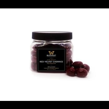 Buoyant Brands Inc. (Formally Lilly's Chocolates) Red Velvet Cherries-Milk Chocolate-10oz