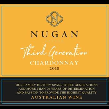 Nugan Estate Third Generation Chardonnay 2018<br /> Australia