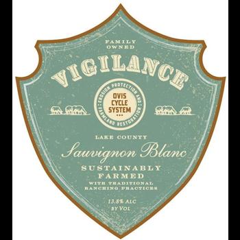 Vigilance Sauvignon Blanc 2019<br /> Red Hills Lake County, California